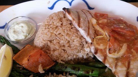 Pacific Catch : Swordfish Dish