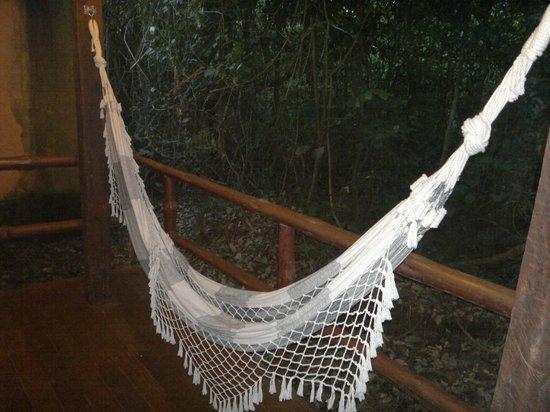 La Aldea de la Selva Lodge : balcón a la selva