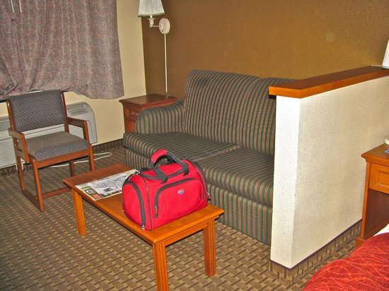 Comfort Inn & Suites San Francisco  Airport North : Sitting area in the room
