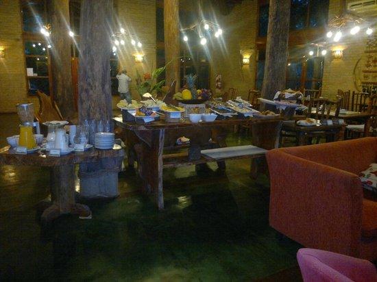 La Aldea de la Selva Lodge: desayuno