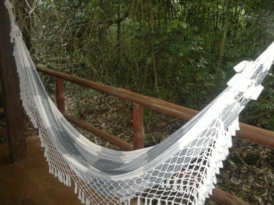 La Aldea de la Selva Lodge: balcón a la selva