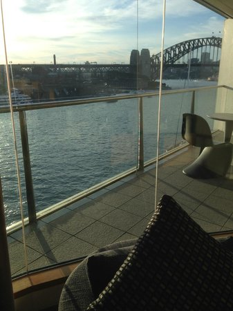 Pullman Quay Grand Sydney Harbour: View from lounge area