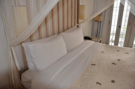 COMO Uma Ubud: Bedroom view of Water Garden Rooms (#17)