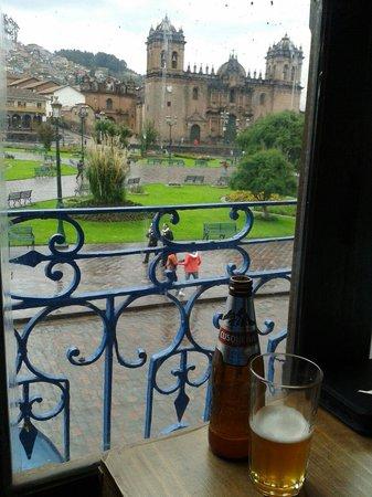 Plaza de Armas (Huacaypata): Vista da praça!