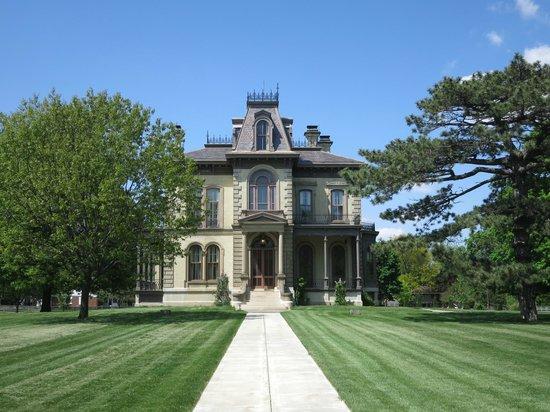 David Davis Mansion State Historic Site: Front of David Davis Mansion