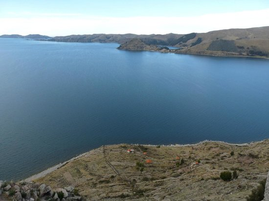 Lake Titicaca from Calvary Hill