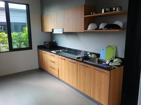 iSanook Residence : Kitchen facilities