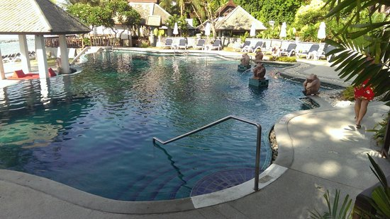 Centara Villas Samui : Bottom Pool & bar / dining
