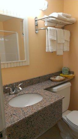 Blue Dolphin Inn: clean bathroom