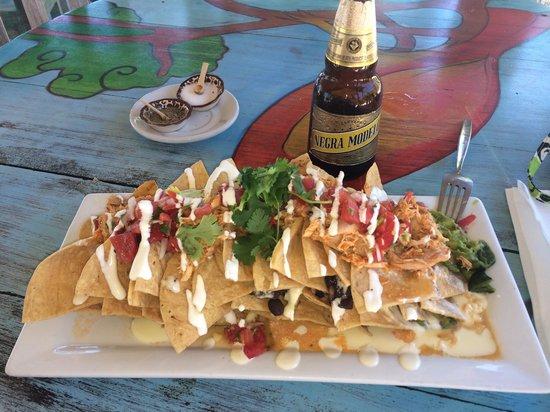 La Zebra : Delicious nachos...