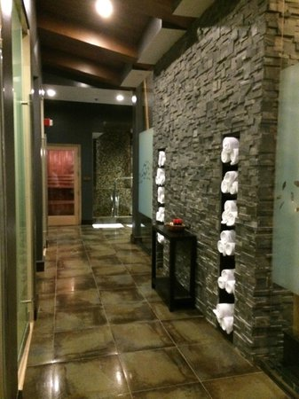 Wind Creek Casino & Hotel, Atmore: Entering the women's side of the spa.