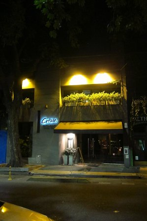 Crizia: Front of Restaurant.