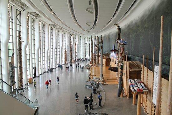 Musée canadien de l'histoire : main hall