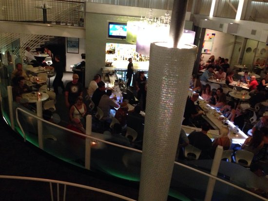 Lulu California Bistro: From the top tier.