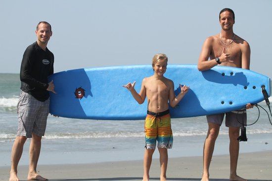 Folly Beach Surf Lessons: Post Surf Session Stoke!