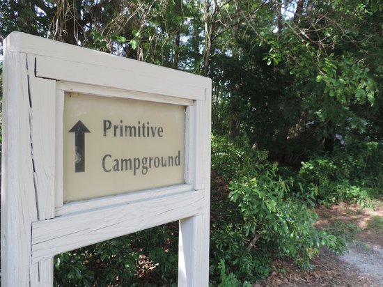 James Island County Park Campground & Cottages: To the site!