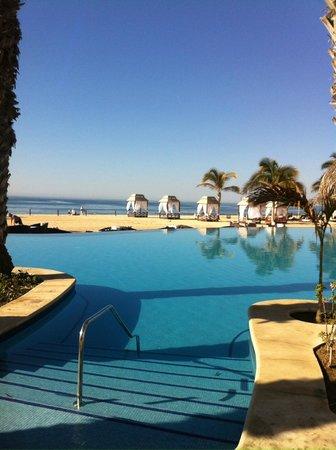 Hyatt Ziva Los Cabos : Infinity pool with swim-up bar