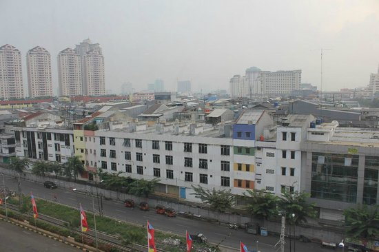 Hotel Neo Mangga Dua Square : View from room