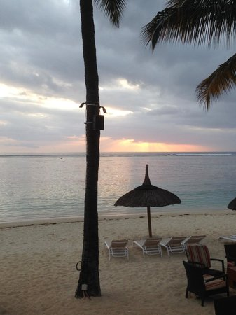 Hilton Mauritius Resort & Spa : VIEW FROM BALCONY