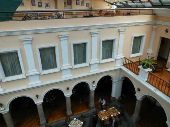 Hotel Patio Andaluz : view from room on balcony