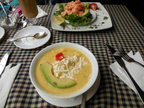 Hotel Patio Andaluz: Locra soup so good!