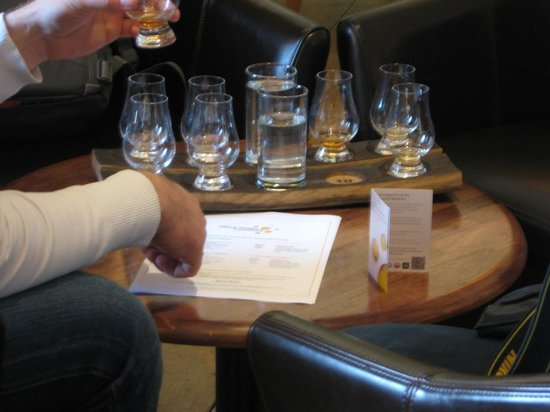 The Scotch Whisky Experience: A whiskey tasting experience from the Bar (additional cost)