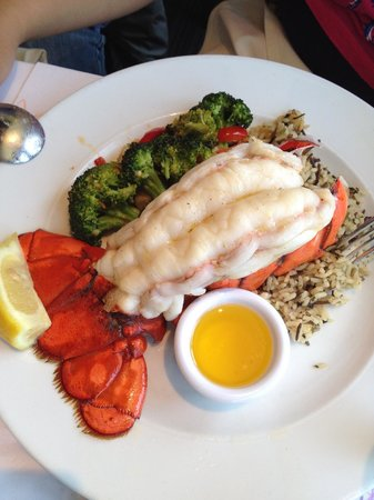 Fog Harbor Fish House : lobster tail