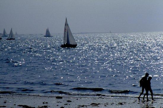 Dune du Pilat : vele al largo