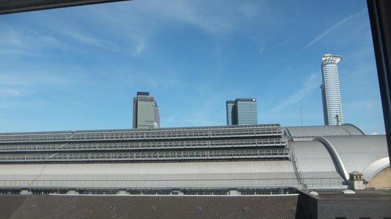 Hotel Excelsior : 部屋の窓からの眺め