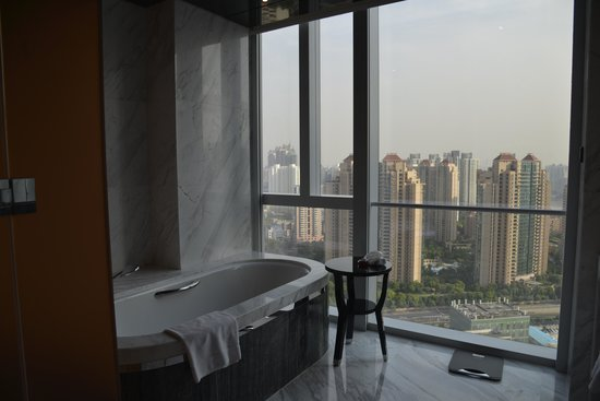 Four Seasons Hotel Shanghai at Pudong: Iris und Guido/ Swiss