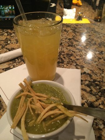 Hilton Garden Inn El Paso/University: Fresh squeezed margarita