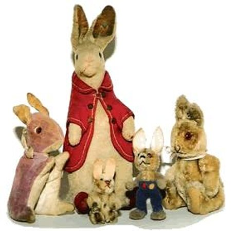 Brighton Toy and Model Museum: Some of our Steiff and other cuddlies