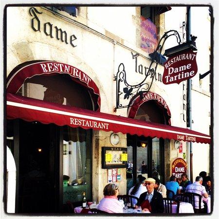 Restaurant Dame Tartine : Dame Tartine