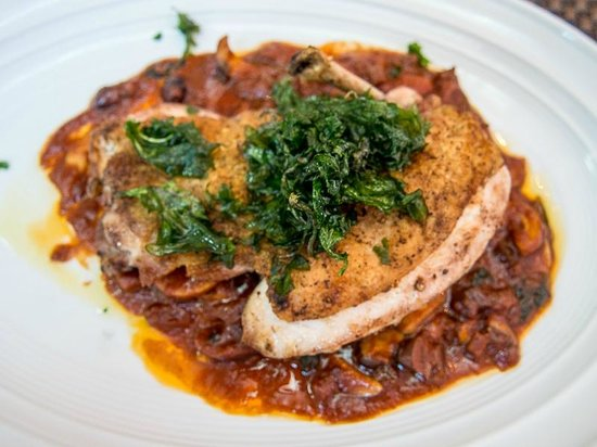 Cucina By Wolfgang Puck : Jidori Brick Chicken