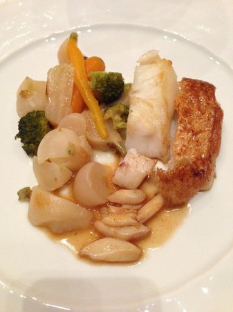 Chateau Les Crayeres: Delicious fish