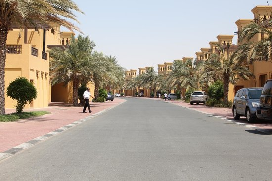 Al Hamra Residence & Village: Outside chalet
