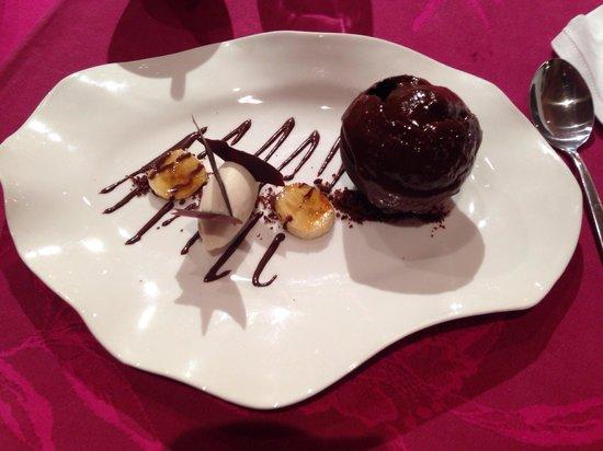 Mini gateau 2 chocolats