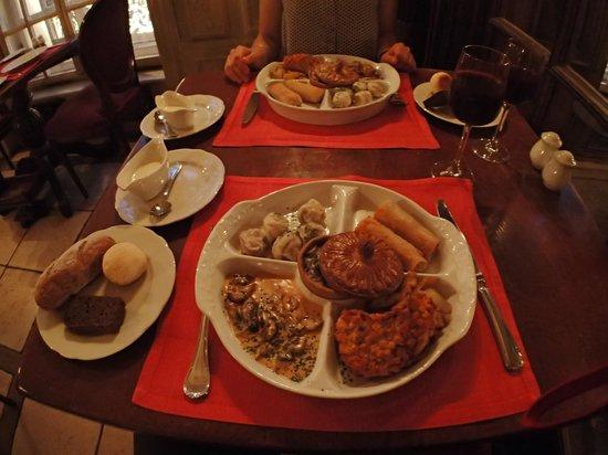 Café Pushkin: Le menu découverte - 5 plats