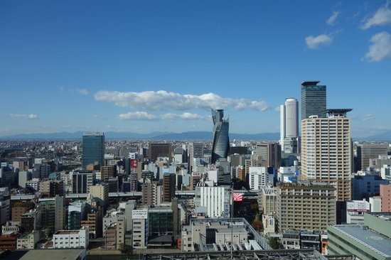Hilton Nagoya : Lovely view of the city from room