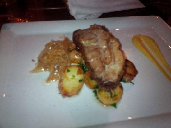 Kispiac Bisztro: Roast pork