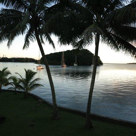 Novotel Suva Lami Bay: bay vista