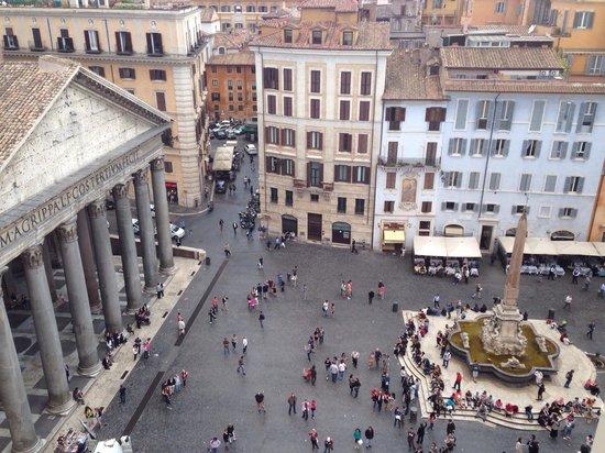 Albergo del Senato : View from roof terrace