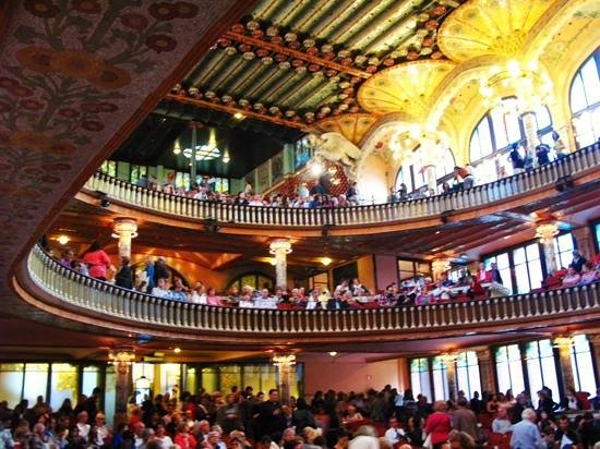 Palais de la Musique Catalane (Palau de la Musica Catalana) : beautiful Palau