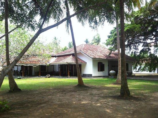 Villa Modarawattha : jardin