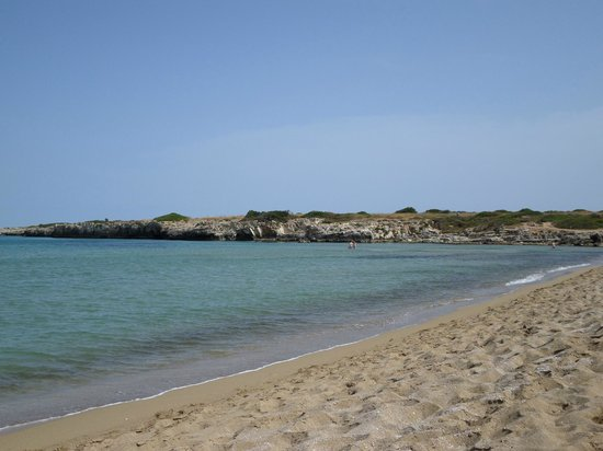 VOI Arenella resort: plage