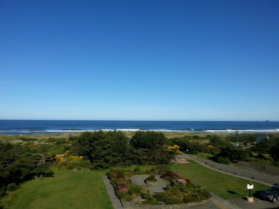 Gold Beach Inn: view from the room