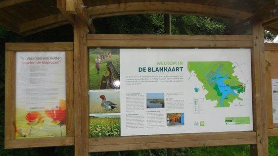 Blankaart Nature Reserve: entrée du site