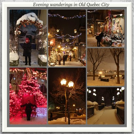 Quartier Petit Champlain : Wander at night...