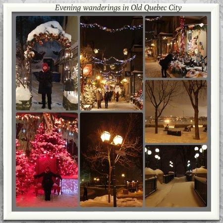 Quartier Petit Champlain: Wander at night...