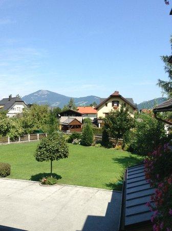 Hotel Sallerhof: 2-bedroom Suite - view from the room